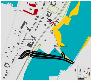 Forslag til Lov om nedlæggelse af overkørsler m.v. på jernbanestrækningen mellem Hobro og ...