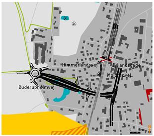 Lov om nedlæggelse af overkørsler m.v. på jernbanestrækningen mellem Hobro og Aalborg ...